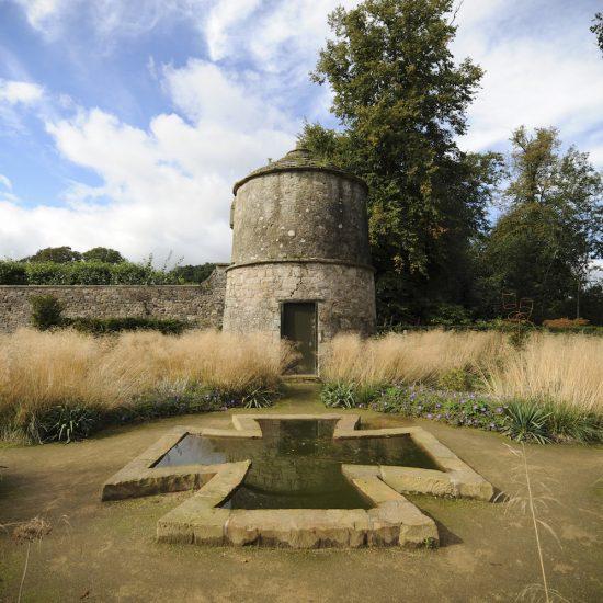Jupiter Artland cruciform water feature, consultation work, pond construction, maintenance, Water Gems