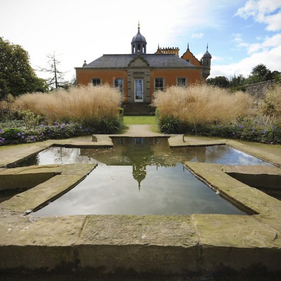 Jupiter Artland cruciform water feature, consultation work, pond construction, maintenance, Water Gems