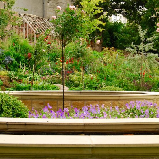 Dunfermline garden, built by Water Gems, designed by Carolyn Grohmann