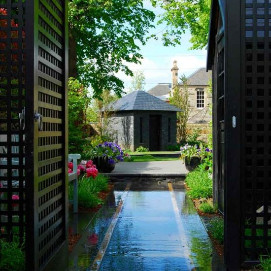 Edinburgh garden built by Water Gems, designed by Carolyn Grohmann