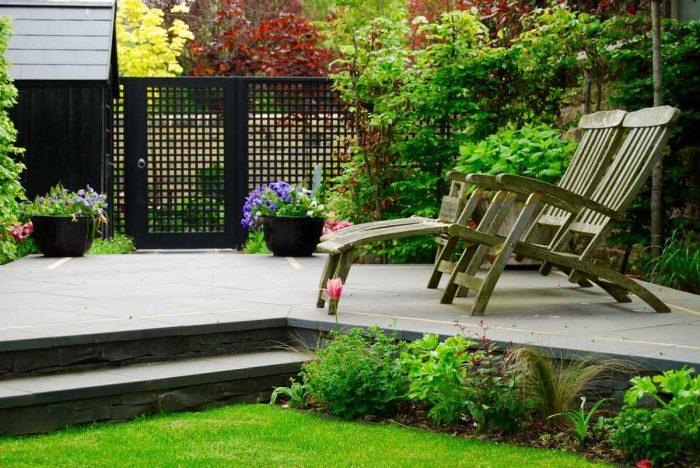 Edinburgh garden built by Water Gems, designed by Carolyn Grohmann