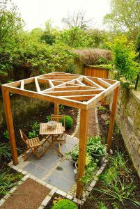 Great Stuart Street Edinburgh, BALI award-winning garden, built by Water Gems, designed by Carolyn Grohmann