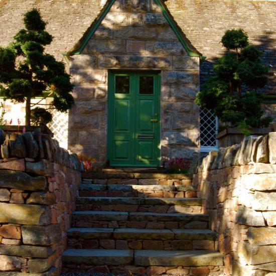 Aviemore garden, drystone walling by Water Gems