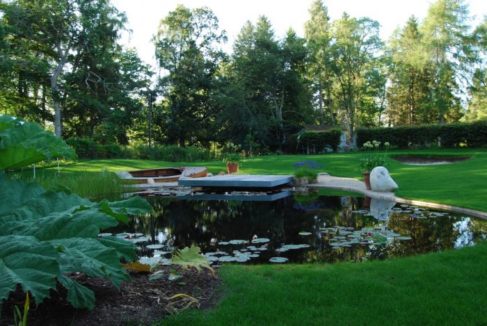 Aviemore garden, water feature remedial work by Water Gems