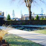 Boardwalk in Edinburgh garden built by Water Gems, designed by Carolyn Grohmann