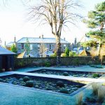 Edinburgh sunken garden, built by Water Gems, designed by Carolyn Grohmann