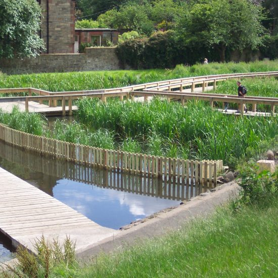 Inverleith Park Pond finished and open to the public.