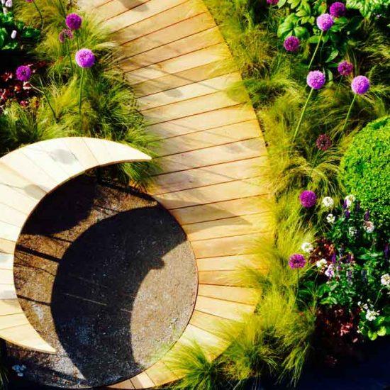 Gold Medal Award-Winning Garden, built by Water Gems, designed by Carolyn Grohmann at Gardening Scotland 2014