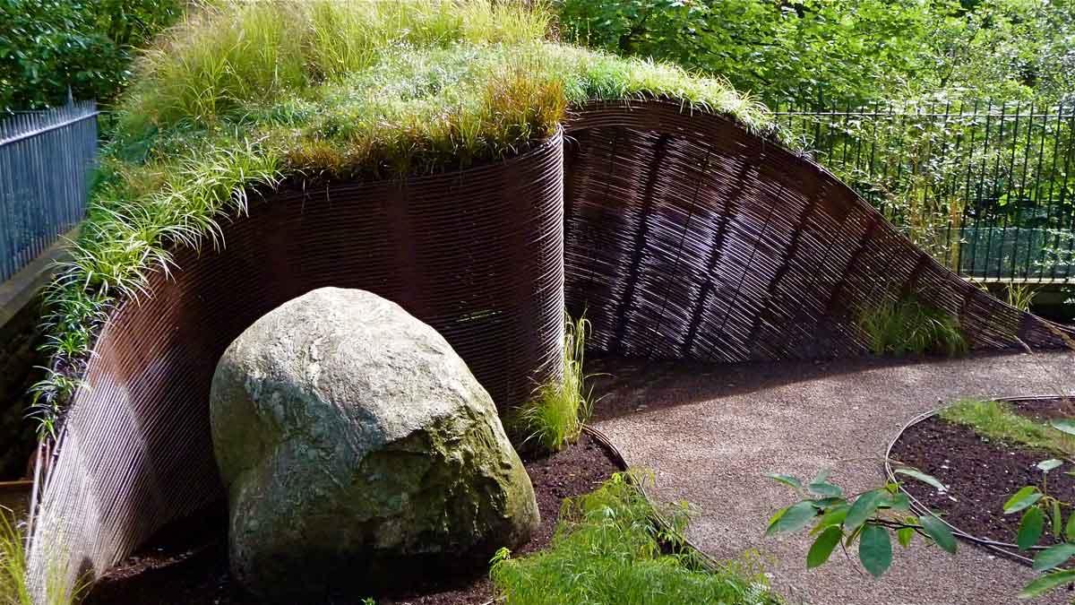 Garden Sheds Edinburgh inverleith garden - water gems