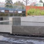 Rebuilt pools at John Hope Gateway, Edinburgh