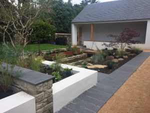 Planted raised beds
