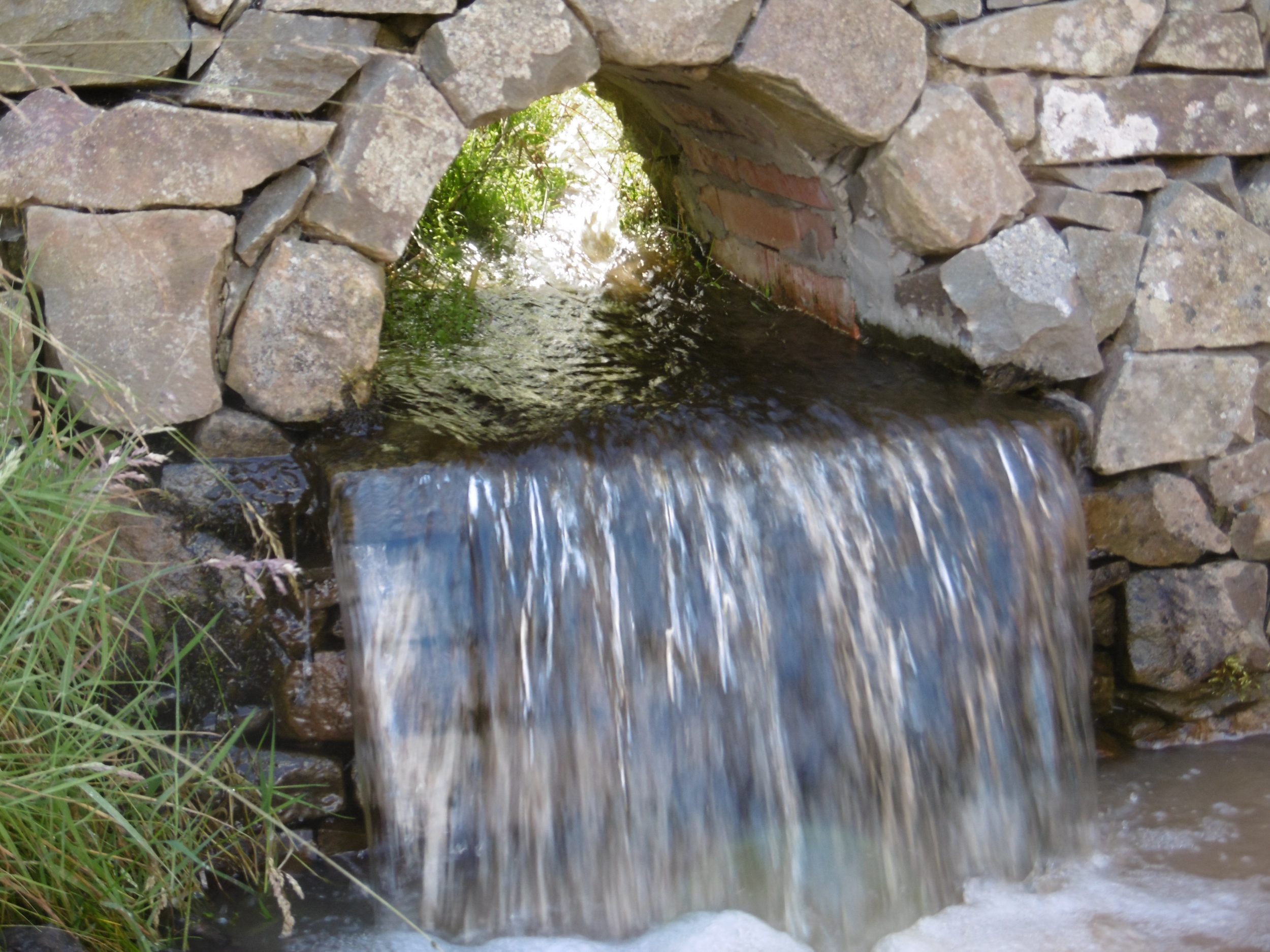 Garden Stream East Lothian