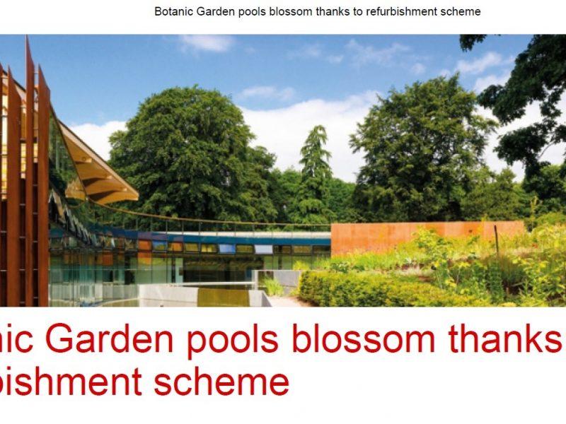 Botanic Gardens refurbishment