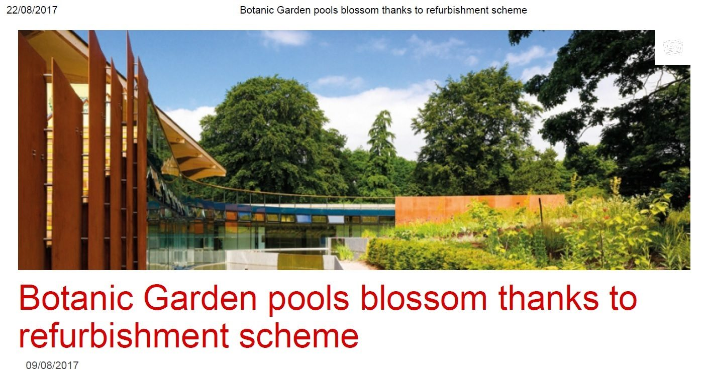 Botanic Gardens refurbishment