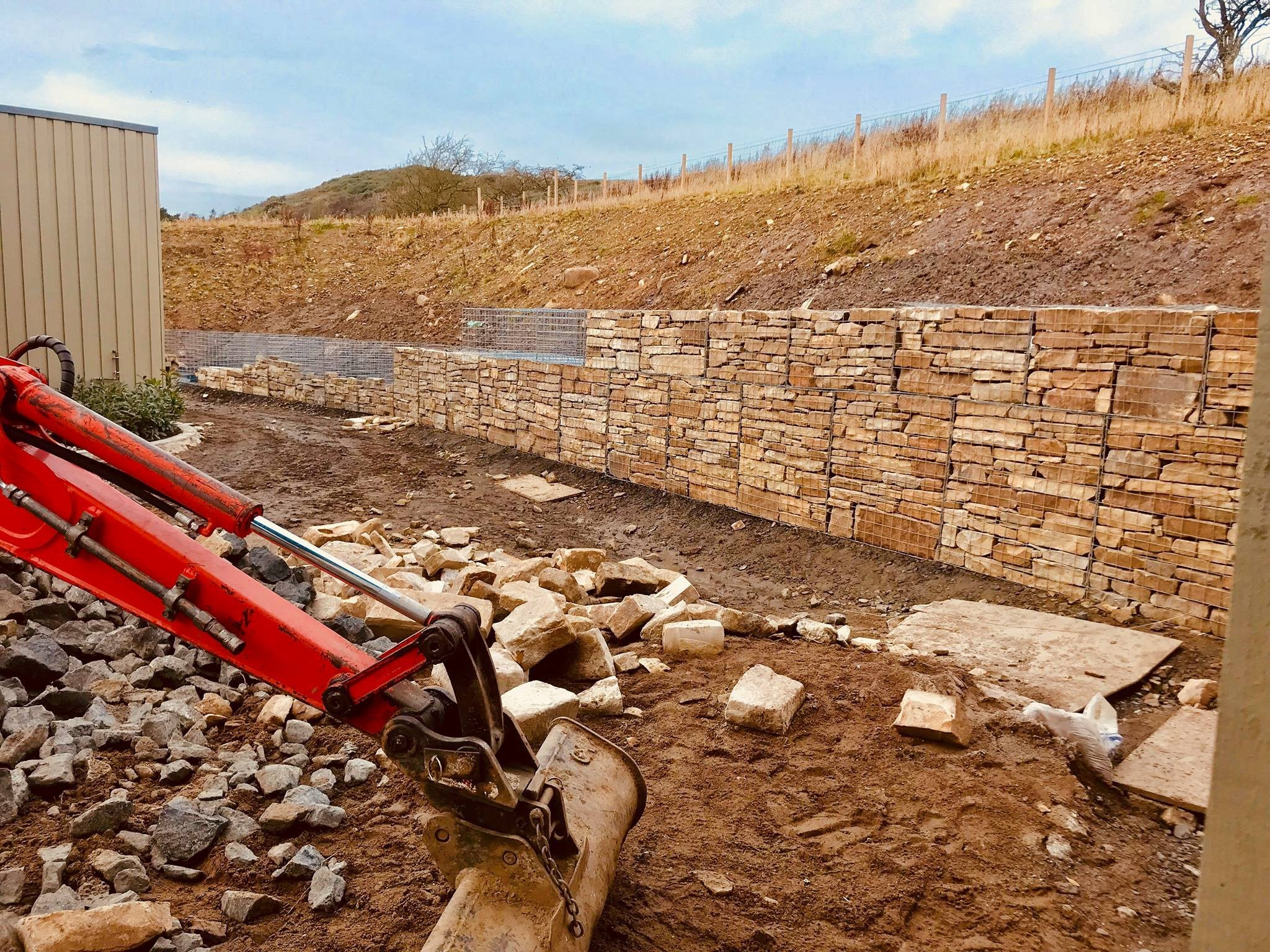 Gabion Wall 11