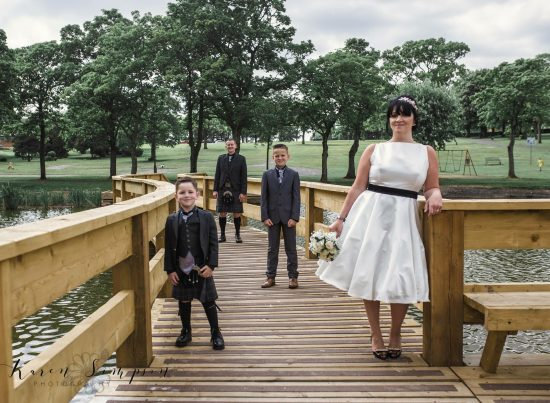 Kay Park Summer 2018 boardwalk Wedding