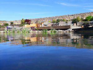 Pond renovation complete